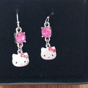 Brand new Hello Kitty earrings.